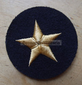 om216 - Volksmarine Nautical Service Specialist Sleeve Patch for Officers - blue