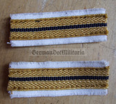 om214 - GST SEE naval arm of the GST - Group Leader Sleeve rank bands - pair