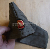 wo042 - East German ZV Zivilverteidigung Civil Defence overseas cap Schiffchen - marked NVA - different sizes available