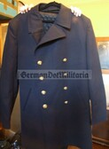 oo297 - original West German Bundesmarine Navy Kolani - light winter coat