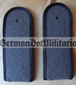 sblab001 - 81 - SOLDAT- PIONIERE - Army Engineers - pair of shoulder boards