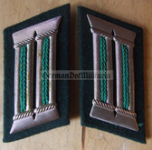 sbbs025 - 12 - Volkspolizei Police officer Collar Tabs - Dress Uniform