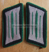 sbbs024 - 4 - pre-1980 Volkspolizei Police non-officer Collar Tabs - Dress Uniform