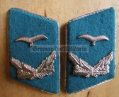 sbbs026 - 2 - Air Force Junior Officer Collar Tabs - Dress Uniform