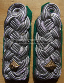 sbgt025 - 6 - MAJOR DER GT - Grenztruppen - Border Guards - pair of shoulder boards