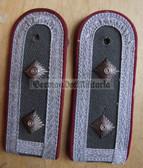sbmfs007 - 2 - OBERFELDWEBEL - Staatssicherheit MfS Wachregiment - State Secret Police - pair of shoulder boards