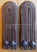 sbfd022 - 3 - FELDDIENST LEUTNANT - all branches of the army and border guards - pair of shoulder boards