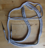 wo302 - NVA Army officer aiguillette Affenschaukel Achselschnur - parade uniform lanyard