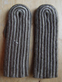 sbfd033 - 63 - FELDDIENST BLANK OFFICER - all branches of the army and border guards - pair of shoulder boards