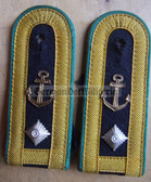 sbgbk006a - MEISTER - NAUTICAL SERVICE - Grenzbrigade Kueste - Coastal Border Guards - pair of shoulder boards