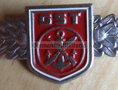 qs023 - 16 - GST Qualifizierungsspange qualification clasp general service - worn on uniforms - 1x rp0