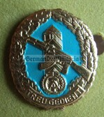 om964 - 4 - Grenztruppen GT Border Guards Reservist badge in box