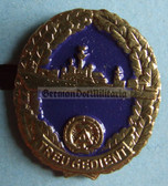 om962 - NVA Volksmarine VM Navy Reservist badge in box