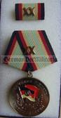 om931 - NVA GRENZTRUPPEN BORDER GUARDS - Long Service Medal in Gold for 20 years service