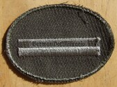 sbutvc005 - FELDDIENST UTV UNTERFELDWEBEL - cap insignia - all branches of the army and border guards
