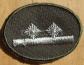 sbutvc007 - FELDDIENST UTV OBERFELDWEBEL - cap insignia - all branches of the army and border guards