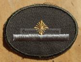 sbutvc011 - FELDDIENST UTV FAEHNRICH - cap insignia - all branches of the army and border guards