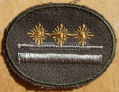 sbutvc023 - FELDDIENST UTV OBERLEUTNANT - cap insignia - all branches of the army and border guards