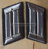 sbbs033 - NVA Luftverteidigung Air Defence officer Collar Tabs - Dress Uniform