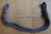 om720 - 11 - grey chin strap cord for SV Strafvollzug Prison Service non-officer visors