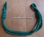 om722 - 15 - green chin strap cord VP Volkspolizei non-officer visors