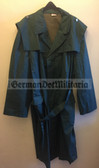 wo212 - VP Volkspolizei police officer trenchcoat or raincoat - different sizes available