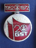 om053 - GST 20th anniversary medal in box