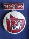 om053 - GST 20th anniversary medal in box