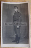 wpc477 - Wehrmacht soldier studio portrait photo - dated 1944