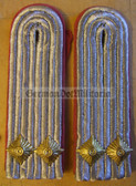 sblap022 - LEUTNANT - Panzertruppen - Tank Service - pair of shoulder boards