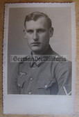 wpc005 - Wehrmacht Gefreiter Studio Portrait photo