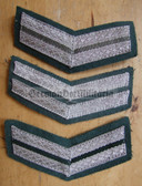 om089 - 19 - VP Volkspolizei Police 10 years service sleeve rank patch chevron