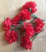 wo069 - 4 - East German May Day Carnation as pocket fillers for your NVA uniforms