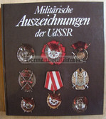 wb019 - MILITARY AWARDS OF THE SOVIET UNION - East German Reference book