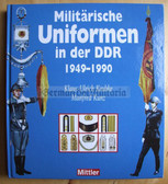 r520 - 3 - HUGE East German NVA & KVP Army uniforms from 1949 to 1990 reference book DDR - Keubke Kunz