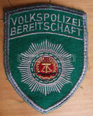 om196 - VOLKSPOLIZEI BEREITSCHAFT SLEEVE PATCH - Riot Police