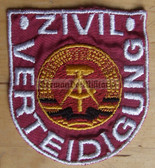 om195 - ZV ZIVILVERTEIDIGUNG SLEEVE PATCH - Civil Defence