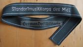 om201 - VP Volkspolizei police STANDORTMUSIKKORPS DES MDI uniform cuffband
