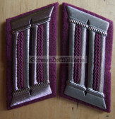 sbbs044 - 7 - Professional Feuerwehr Fire Fighters officer Collar Tabs - Dress Uniform