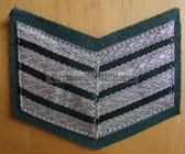 om204 - 5 - VP Volkspolizei Police 20 years service sleeve rank patch chevron