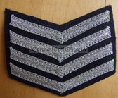 om218 - 3 - TraPo Transportpolizei Transport Police 20 years service sleeve rank patch chevron