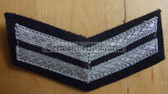 om209 - 8 - TraPo Transportpolizei Transport Police 10 years service sleeve rank patch chevron