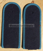 sbvml001 - MATROSE - Volksmarine Flieger Marineflieger - Navy Air Service - pair of shoulder boards