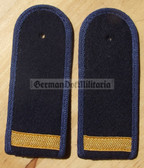 sbvmx002 - 3 - OBERMATROSE  - from early 1970's - Volksmarine - Navy - pair of shoulder boards
