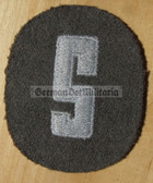 om134 - NVA SCHIRRMEISTER - qualification sleeve patch