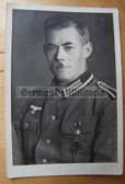 wpc002 - Wehrmacht NCO with SA Sports Badge and medal ribbon studio portrait photo