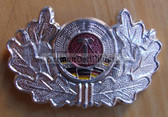 sbbs056 - 12 - East German Volunteer Firefighters Visor Hat insignia - visor cockade