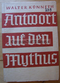 ob007 - ANTWORT OF DEN MYTHUS - German Church attack on DER MYTHUS DES 20 JAHRHUNDERTS by Alfred Rosenberg