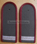 sbmfs002 - 15 - GEFREITER - Stasi MfS Staatssicherheit MfS Wachregiment Berlin - State Secret Police - pair of shoulder boards - 3x rp0