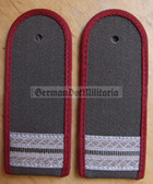 sbmfs003 - STABSGEFREITER - Staatssicherheit MfS Wachregiment - State Secret Police - pair of shoulder boards